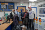 Ann Coffey MP - Visit to Stockport Safestore - Wrap up Manchester - 2018
